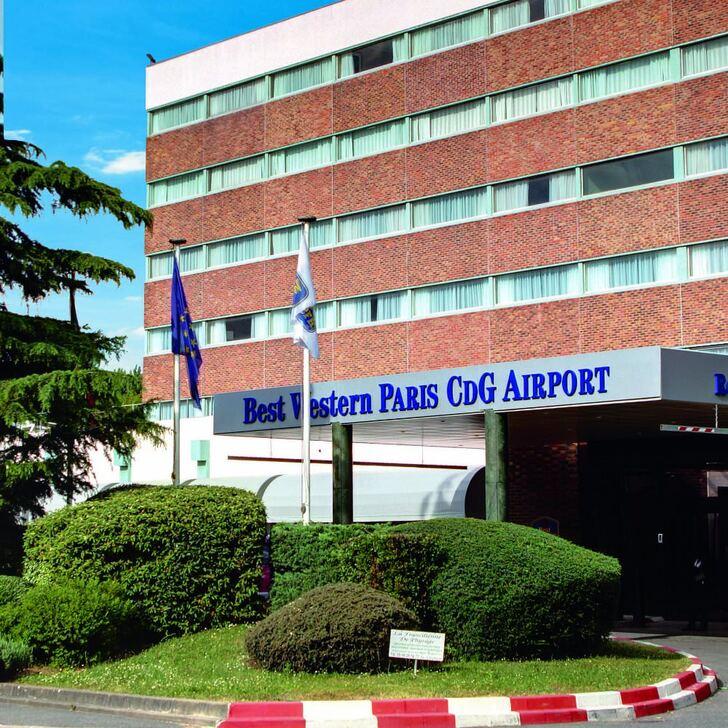 BEST WESTERN HOTEL PARIS CDG AIRPORT Hotel Car Park (External) Roissy-en-France