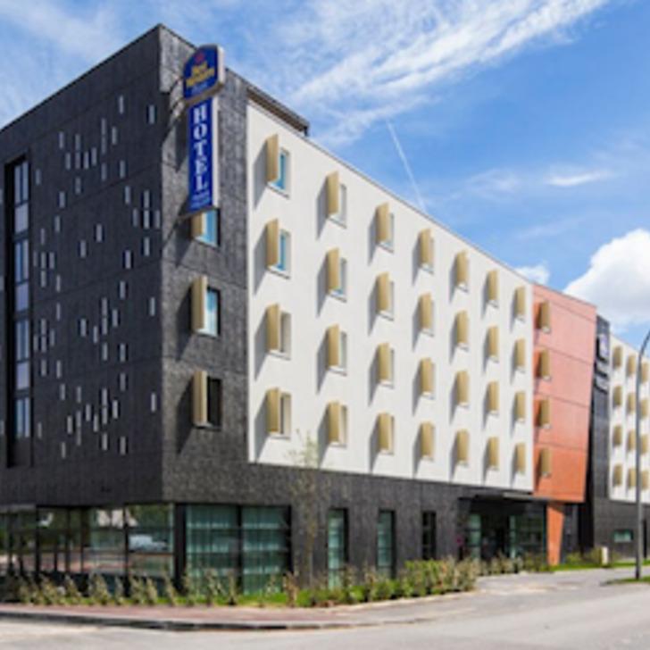 Parking Hôtel BEST WESTERN PLUS HOTEL PARIS VELIZY (Couvert) Vélizy-Villacoublay
