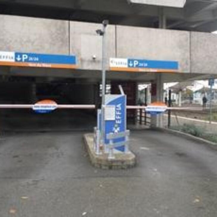 Parking Oficial EFFIA GARE DU MANS (Cubierto) LE MANS