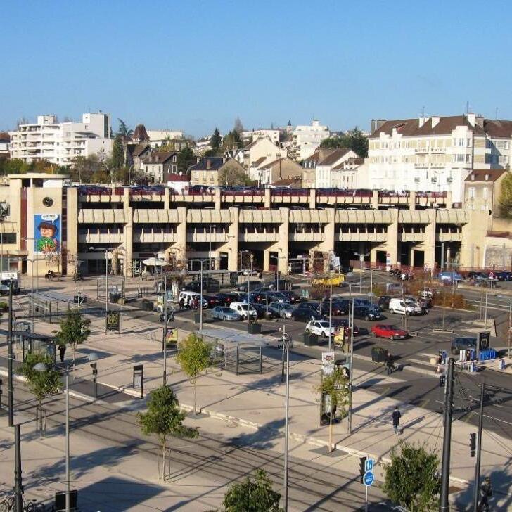 Parking Officiel EFFIA GARE DE DIJON (Extérieur) Dijon