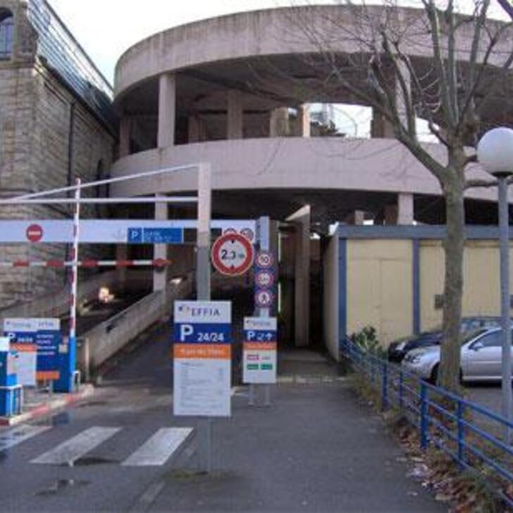 EFFIA GARE DE METZ Officiële Parking (Exterieur) METZ