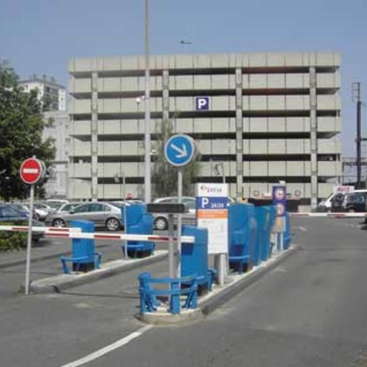 Parking Oficial EFFIA GARE DE SAINT-PIERRE-DES-CORPS Nord (Cubierto) SAINT PIERRE DES CORPS
