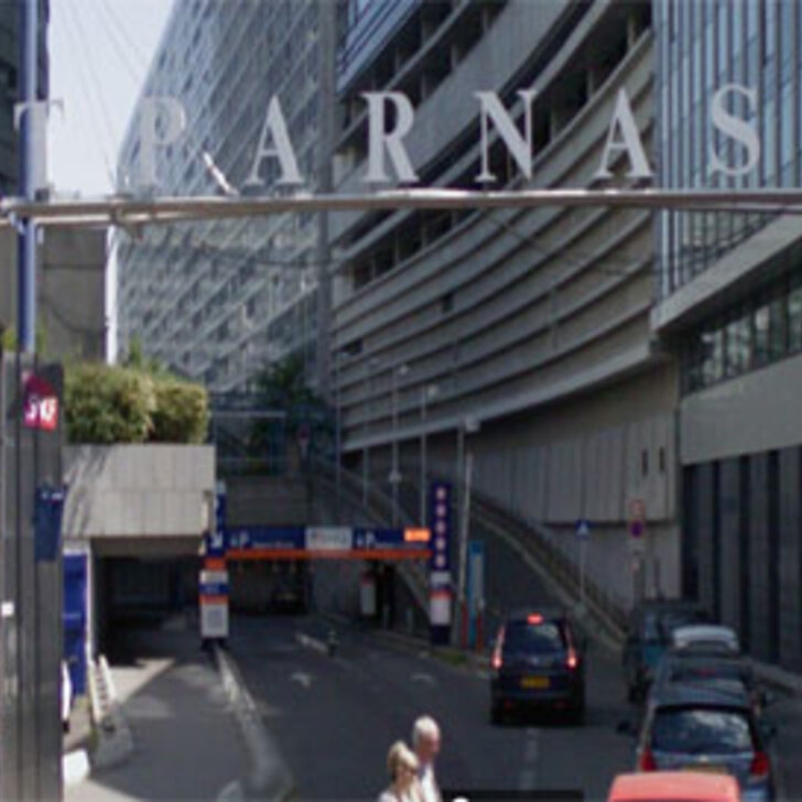 Parking Oficial EFFIA GARE MONTPARNASSE PASTEUR (Cubierto) PARIS