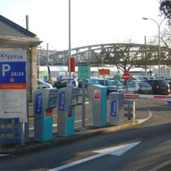 Parking Officiel EFFIA GARE DE LA ROCHELLE - Longue Durée (Extérieur) LA ROCHELLE