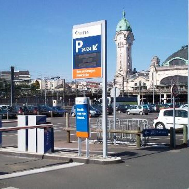 EFFIA GARE DE LIMOGES BÉNÉDICTINS P2 Officiële Parking (Exterieur) LIMOGES