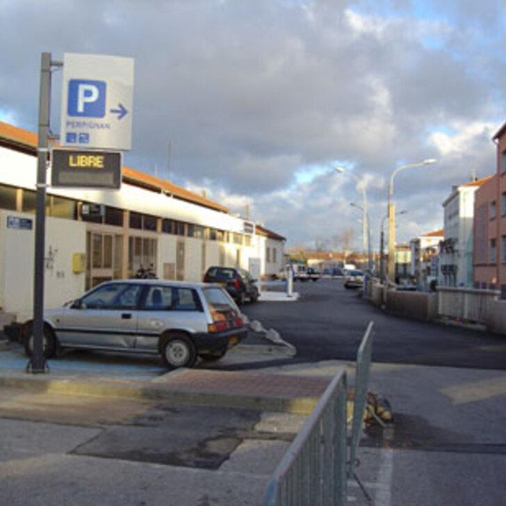 Parking Oficial EFFIA GARE DE PERPIGNAN (Exterior) PERPIGNAN