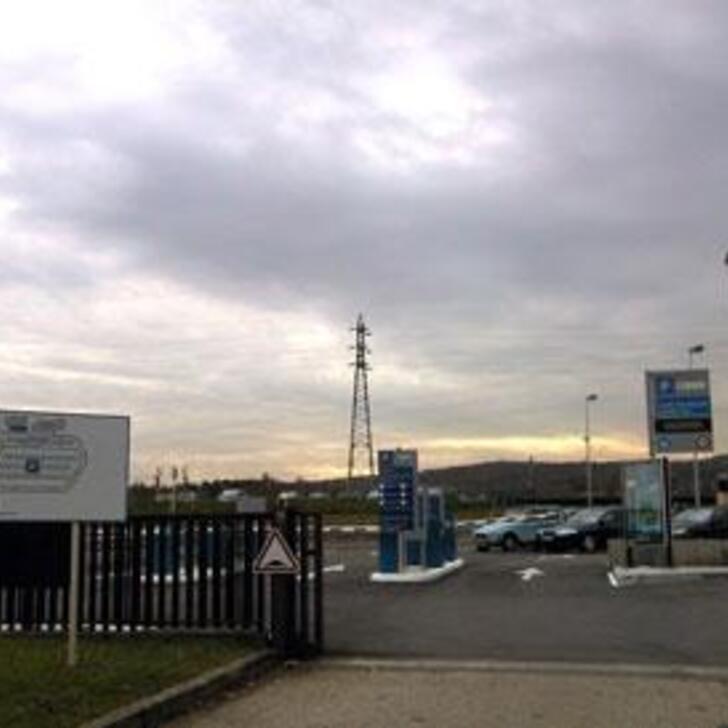 EFFIA GARE DE MÂCON Officiële Parking (Exterieur) MACON