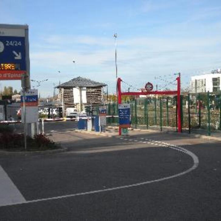 EFFIA GARE D'ÉPINAL Officiële Parking (Exterieur) Epinal