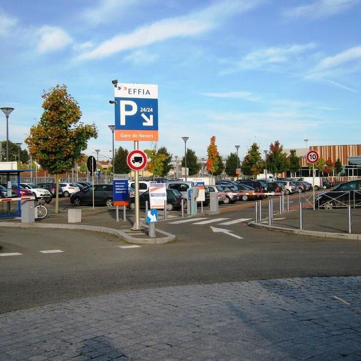 EFFIA GARE DE NEVERS Official Car Park (External) Nevers