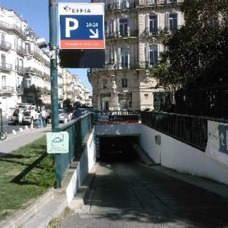 Parking Public EFFIA MONTPELLIER ARC DE TRIOMPHE (Couvert) Montpellier