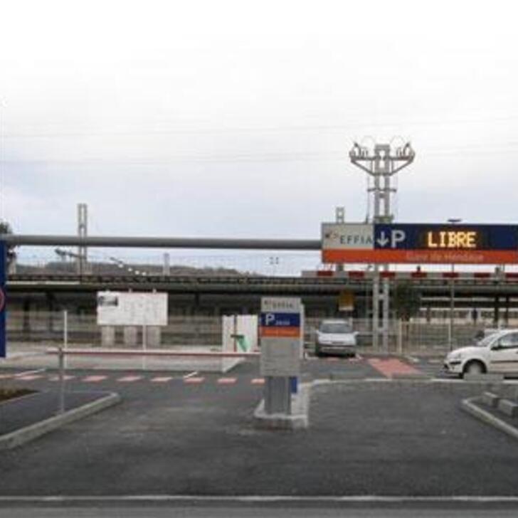 Parking Oficial EFFIA GARE DE HENDAYE (Exterior) Hendaye