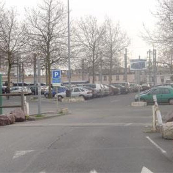EFFIA GARE DE CAEN Officiële Parking (Exterieur) CAEN