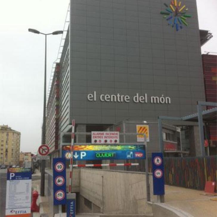 EFFIA CENTRE DEL MON - GARE DE PERPIGNAN Officiële Parking (Overdekt) PERPIGNAN
