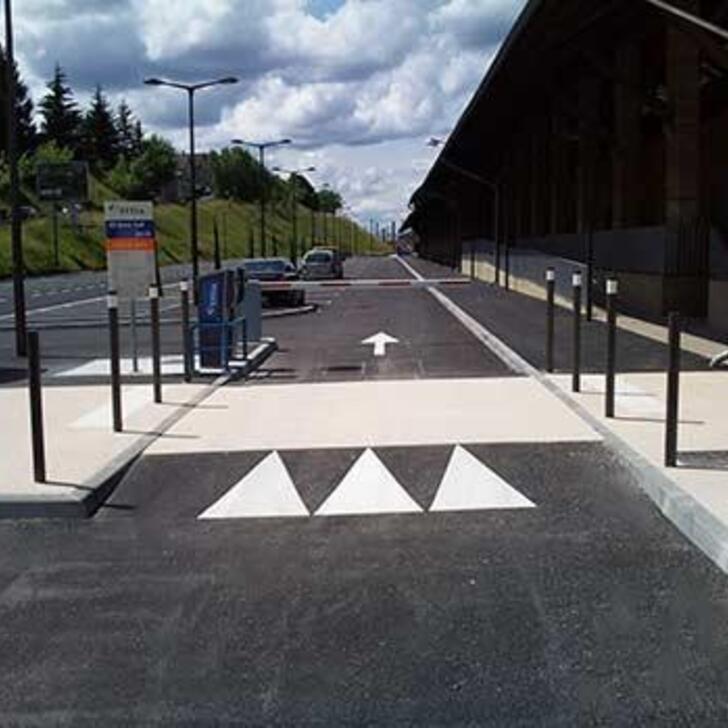 EFFIA GARE DE BRIVE-LA-GAILLARDE P2 Officiële Parking (Exterieur) BRIVE