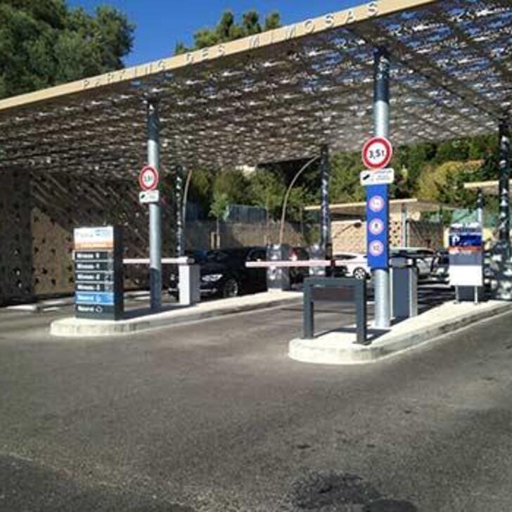 EFFIA LES MIMOSAS Public Car Park (Covered) CASSIS