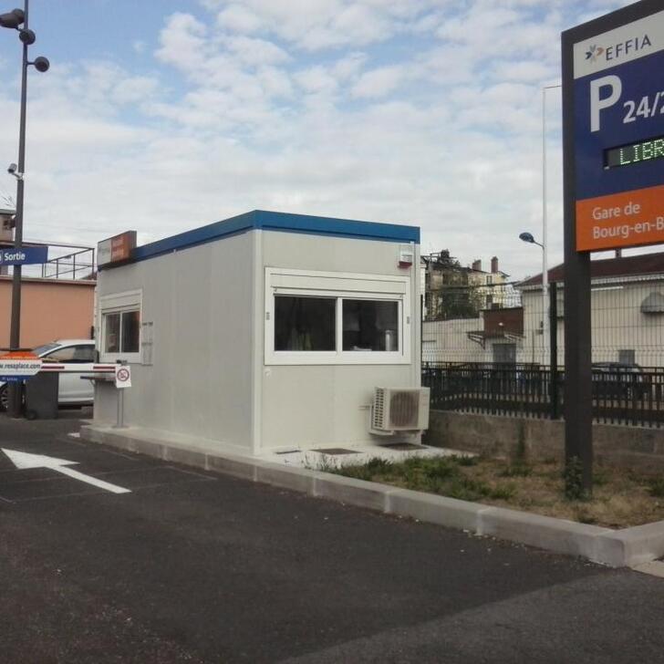 Parking Oficial EFFIA GARE DE BOURG-EN-BRESSE (Exterior) Bourg-en-Bresse