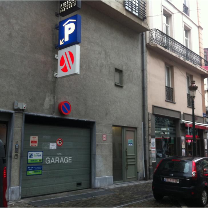 Parking Public BEPARK BOURSE - HÔTEL MARRIOTT (Couvert) Bruxelles