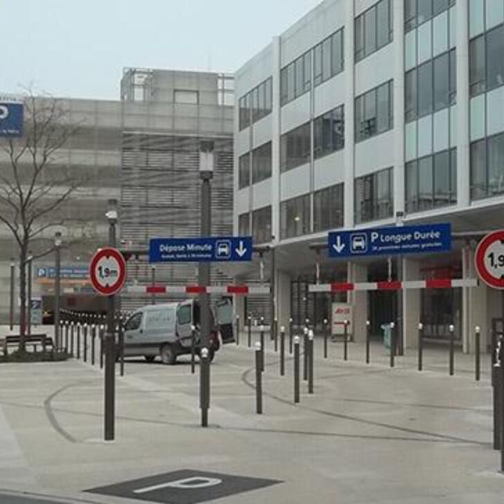 Parking Officiel EFFIA GARE DE REIMS P2 (Couvert) REIMS