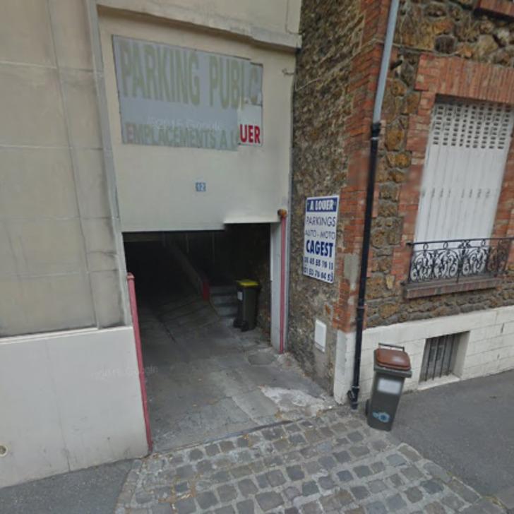 Privatgelände Parkplatz RUE ÉMILE ZOLA (Überdacht) Le Pré-Saint-Gervais