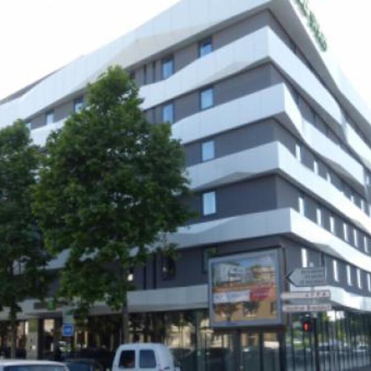 IBIS STYLES STRASBOURG AVENUE DU RHIN Hotel Car Park (Covered) Strasbourg