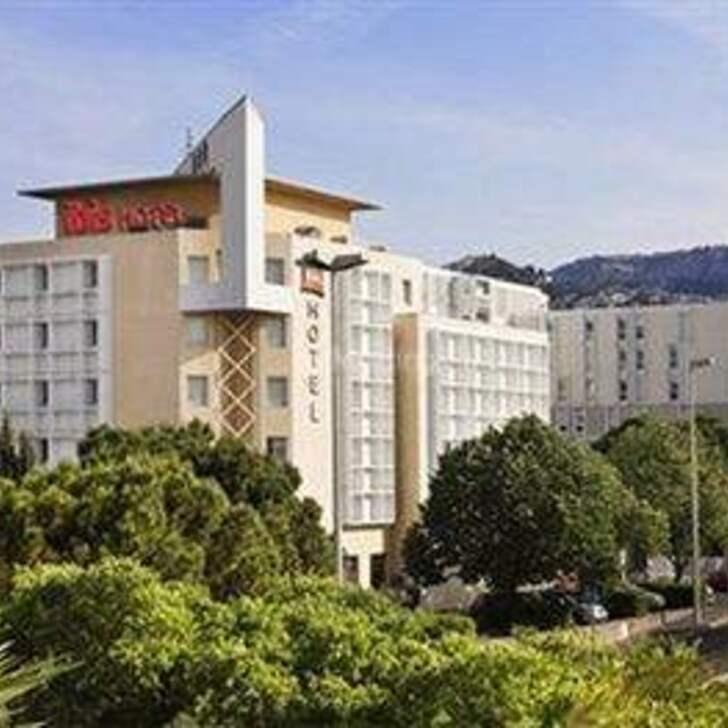 Parking Hotel IBIS MARSEILLE BONNEVEINE CALANQUES PLAGES (Cubierto) Marseille