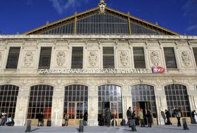 Parkings Gare Marseille-Saint-Charles à Marseille - Réservez au meilleur prix