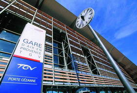 Aix TGV station car parks in  - Book at the best price
