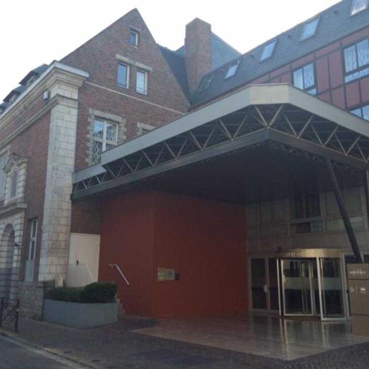 MERCURE LILLE CENTRE VIEUX-LILLE Hotel Car Park (Covered) Lille