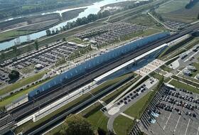 Parques de estacionamento Estação TGV de Avignon em Avignon - Reserve ao melhor preço