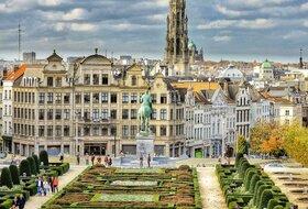 Parkeerplaatsen in het centrum van Bruxelles - Boek tegen de beste prijs