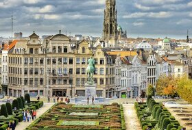 Parques de estacionamento no Bruxelles  centro da cidade - Reserve ao melhor preço