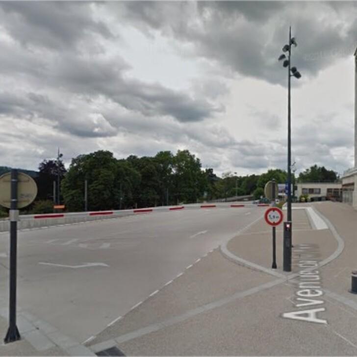 EFFIA GARE DE BESANÇON VIOTTE Sud Officiële Parking (Overdekt) BESANCON