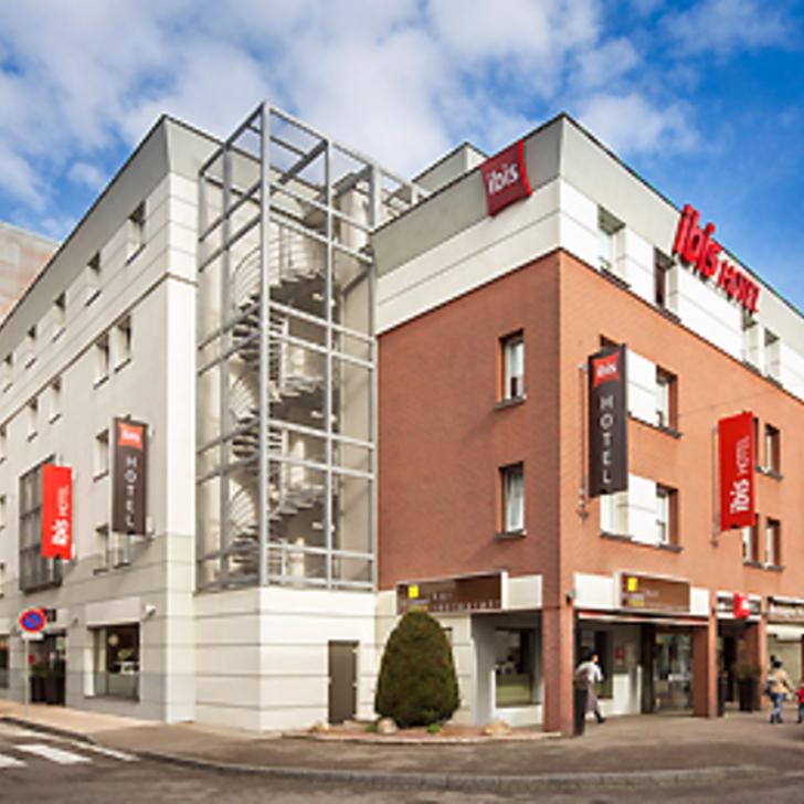 Parking Hotel IBIS AÉROPORT BÂLE MULHOUSE (Cubierto)  Saint-Louis