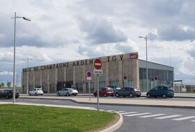Champagne Ardenne TGV Station car parks in Bezannes - Book at the best price