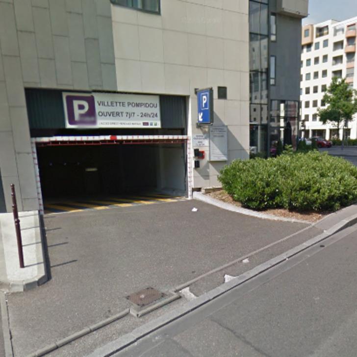 Öffentlicher Parkplatz GARE PART-DIEU (Überdacht) Lyon