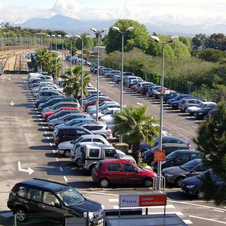 Offiziell Parkhaus EFFIA GARE D'ANTIBES (Extern) ANTIBES