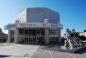 The National Theater of Nice car parks in Nice - Ideal for shows