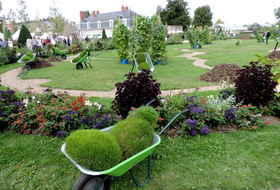 Garden of plants car parks in Nantes - Book at the best price