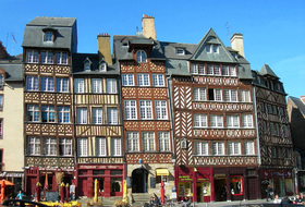 Historic Center of Rennes car parks in Rennes - Book at the best price