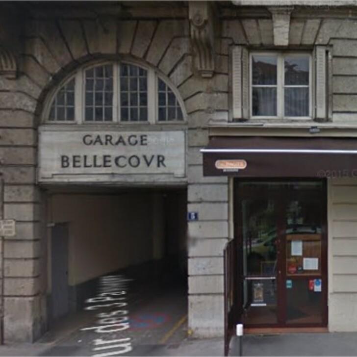 Parking Público GARAGE BELLECOUR (Cubierto) Lyon