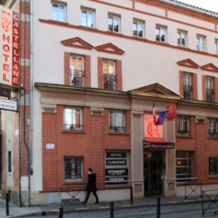 CASTELLANE Hotel Parking (Overdekt) Toulouse