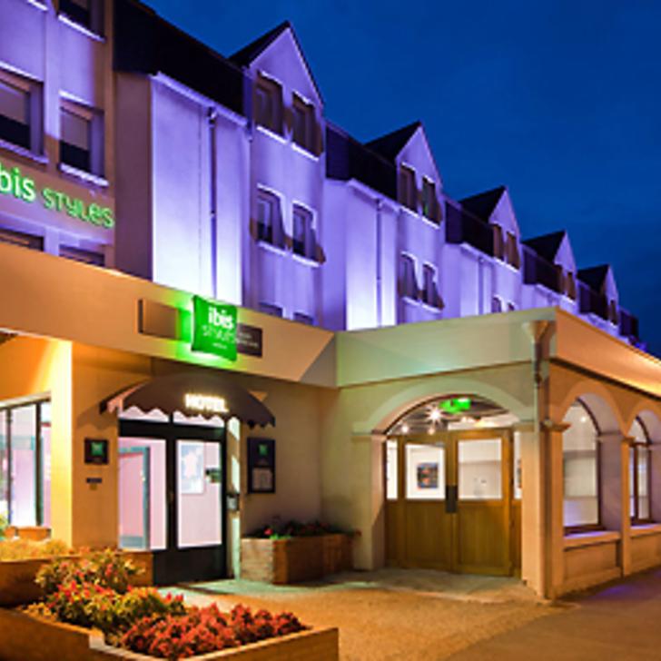 Parking Hotel IBIS STYLES BLOIS CENTRE GARE (Cubierto) Blois