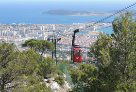 Parkings Téléphérique du Mont Faron à Toulon - Réservez au meilleur prix