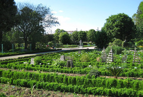 Garden of the Arquebuse car parks in Dijon - Book at the best price