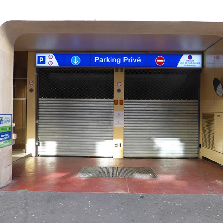 Parking Public BEPARK PONTHIEU CHAMPS-ÉLYSÉES (Couvert) Paris