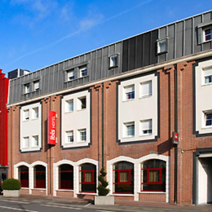 Parking Hôtel IBIS LILLE LOMME CENTRE (Extérieur) Lomme Lez Lille