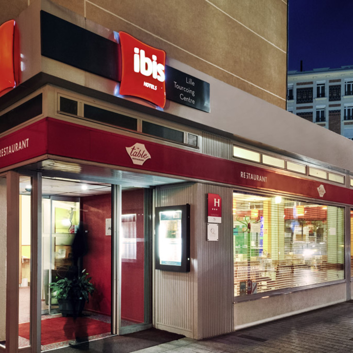 IBIS LILLE TOURCOING CENTRE Hotel Car Park (Covered) Tourcoing
