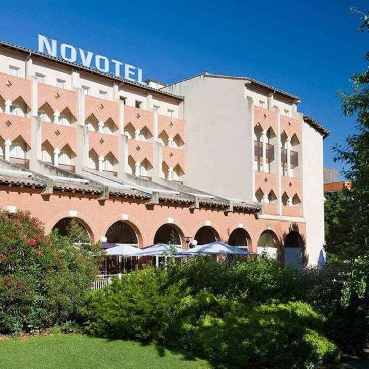 NOVOTEL TOULOUSE CENTRE COMPANS CAFFARELLI Hotel Car Park (Covered) Toulouse
