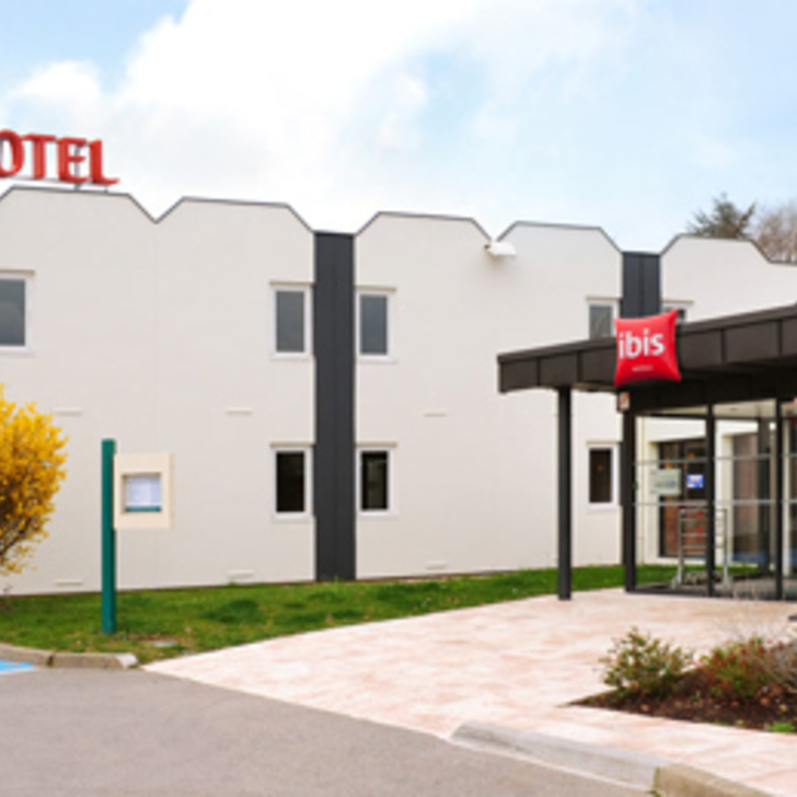 IBIS ROUEN PARC DES EXPOS ZÉNITH Hotel Car Park (External) Saint-Étienne-du-Rouvray