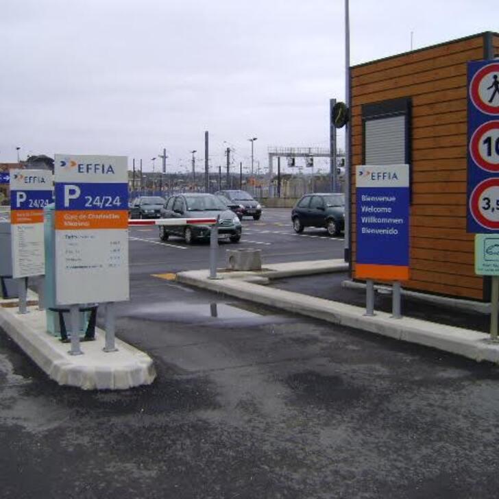 Parcheggio Ufficiale EFFIA GARE DE CHARLEVILLE-MÉZIÈRES - Lunga Durata (Esterno) CHARLEVILLE MEZIERES